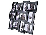 Bilderrahmen Collage 12,black - Bilderrahmen Collage 12,black
